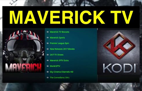Maverick TV best kodi addons