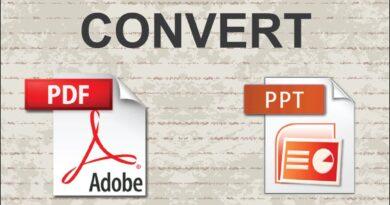 PDF Files to PPT