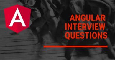Angular Development Interview Questions