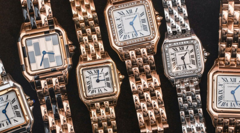 World's Luxurious Watches For Ladies: Panthere De Cartier